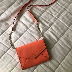 Kate Spade Small Envelope Cross Body CORAL
